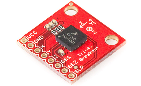 Using an accelerometer in your Arduino project - UserK